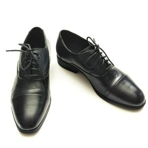 Rockport AdiPrene Oxford Black Shoes Sz 7